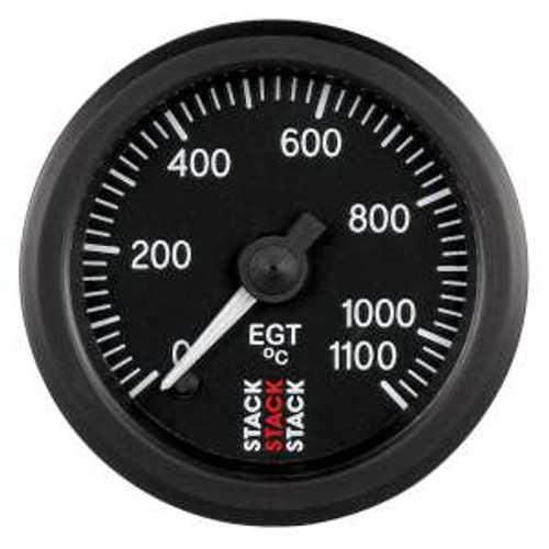 Stack 52mm Professional Stepper Motor Analogue Gauge - Exhaust Gas Temperature