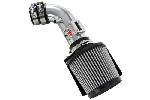 HPS Polish Shortram Air Intake + Heat Shield for 06-11 Honda Civic 1.8L 8th Gen