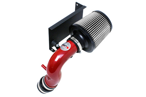 HPS Red Shortram Air Intake + Heat Shield for 06 Mini Cooper S 1.6L Supercharged with Manual Trans.