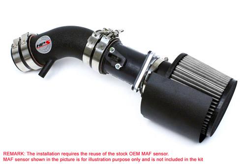 HPS Black Shortram Air Intake + Heat Shield for 02-06 Nissan Altima 2.5L 4Cyl