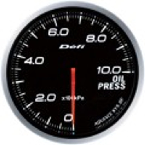 Defi Advance BF Series 60mm Link-Meter Gauge - Oil Pressure