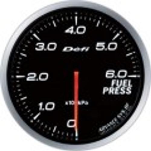 Defi Advance BF Series 60mm Link-Meter Gauge - Fuel Pressure