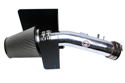 HPS Polish performance cold air intake + Heat Shield for 07-11 Toyota Tundra 5.7L V8