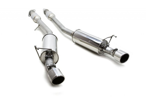 """AAM Competition 2.5"""" True Dual Exhaust - Nissan 370Z 09+"""