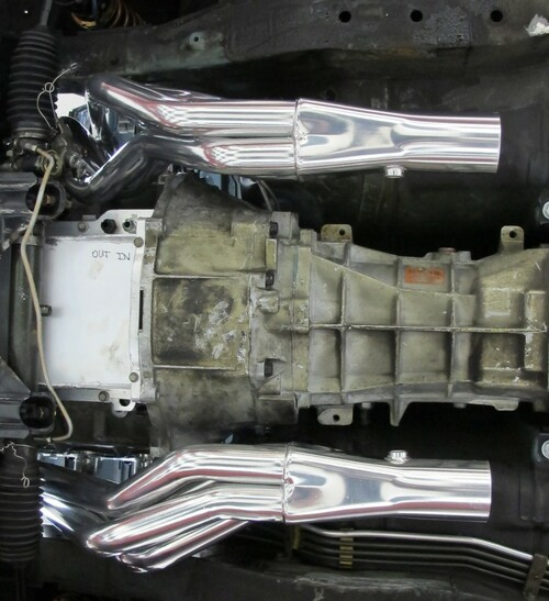 Hooker Super Comp LS Engine Swap Headers - Nissan 240SX S13/S14 89-98