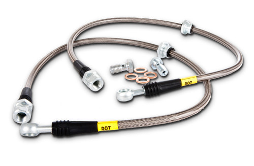 StopTech Stainless Steel Braided Brake Lines Front - Scion FR-S / Subaru BRZ