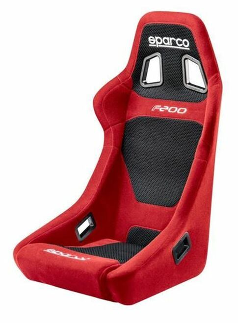 Sparco F200 Red Black