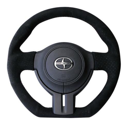 Cusco Suede 350mm Steering Wheel - Scion FR-S / Subaru BRZ