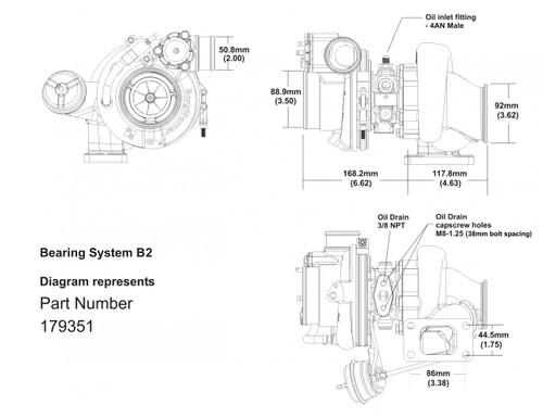 Borg Warner EFR 7670 Turbocharger