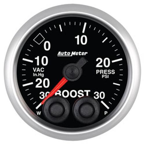 Auto Meter Elite Series 52mm Gauges - Boost Pressure
