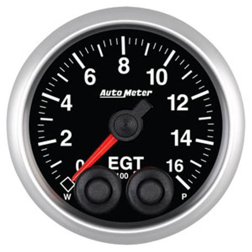 Auto Meter Elite Series 52mm Gauges - Exhaust Gas Temperature