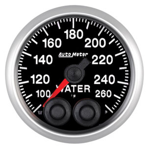 Auto Meter Elite Series 52mm Gauges - Water Temperature
