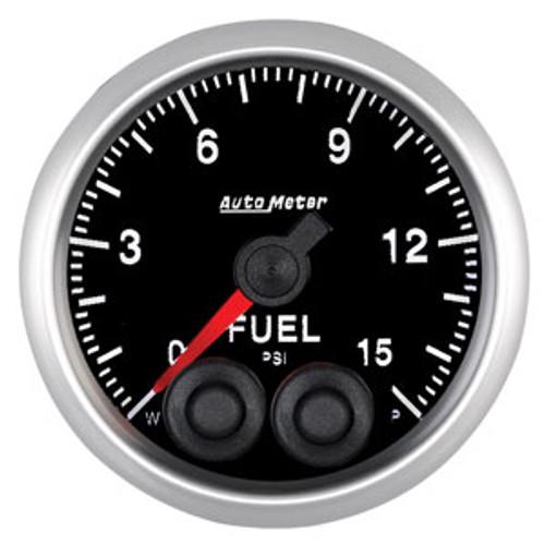 Auto Meter Elite Series 52mm Gauges - Fuel Pressure