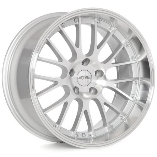 SQUARE Wheels G6 Model - 18x9.5 +12 4x114.3 (set of 4)
