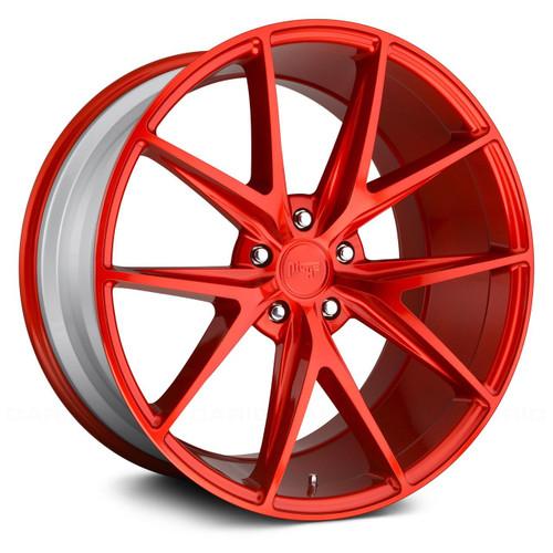 Niche Misano M186 20X10 40 5X120 Ql -Gloss Red