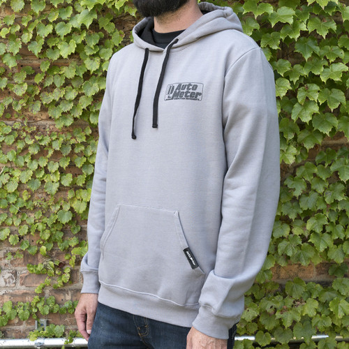 AutoMeter Pullover Hoodie Adult Xxxlarge Gray 'Competition'
