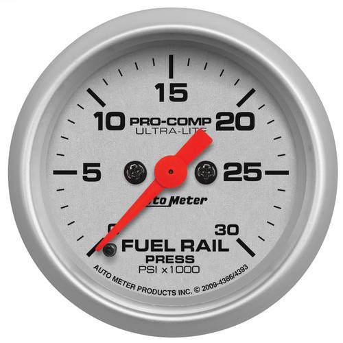 "AutoMeter Gauge Rail Pressure (Ram 5.9L) 2 1/16"" 30Kpsi Digital Stepper Motor Ul"