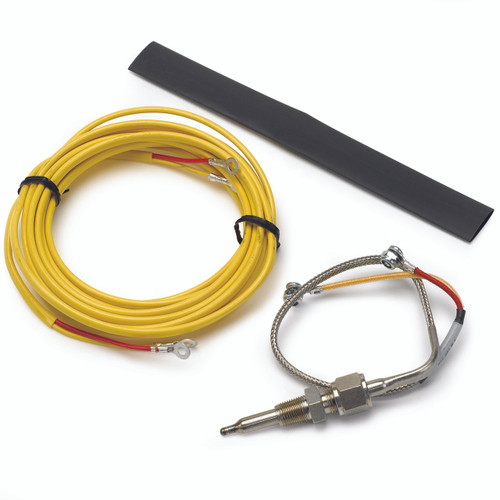 """AutoMeter Thermocouple Kit Type K 1/4"""" Dia Closed Tip 10Ft. Incl. Mtg. Hardware"""