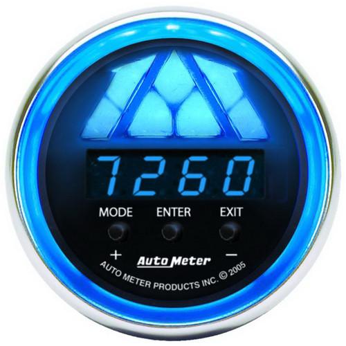AutoMeter Gauge Tachometer Digital Rpm W/ Led Shift Light Cobalt