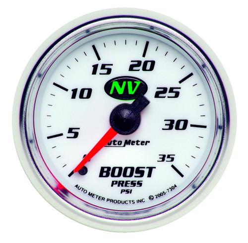 "AutoMeter Gauge Boost 2 1/16"" 35Psi Mechanical Nv"
