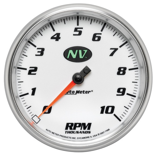 "AutoMeter Gauge Tachometer 5"" 10K Rpm In-Dash Nv"
