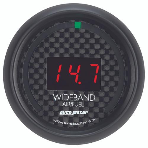 "AutoMeter Gauge Air/Fuel Ratio-Wideband Street 2 1/16"" 10:1-17:1 Digital Gt"