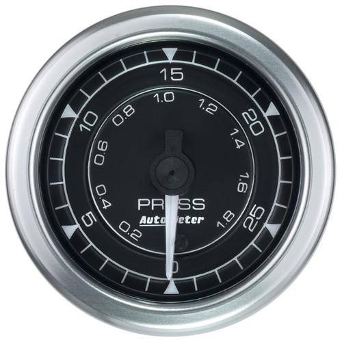"AutoMeter Gauge Pressure 2 1/16"" 30Psi Digital Stepper Motor Chrono"