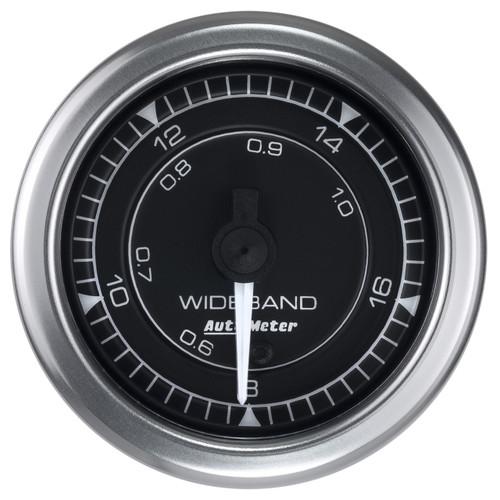 """AutoMeter Gauge Air/Fuel Ratio-Wideband Analog 2 1/16"""" 8:1-18:1 Stepper Motor Chrono"""