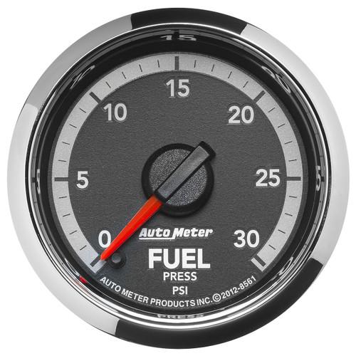 """AutoMeter Gauge Fuel Press 2 1/16"""" 30Psi Digital Stepper Motor Ram Gen 4 Fact. Match"""