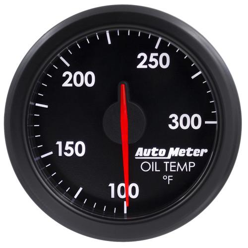 "AutoMeter 2-1/16"" Oil Temp 100-300`F Airdrive Black"