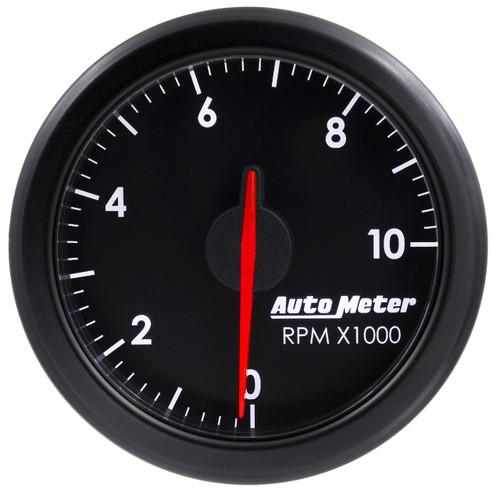 """AutoMeter 2-1/16"""" Tach 0-10000 Rpm Airdrive Black"""