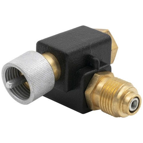 """AutoMeter 90º  Adapter For Speedometer Cable 5/8""""-18Thread"""