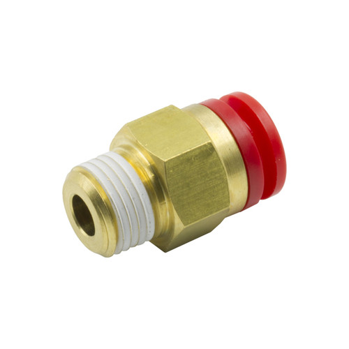"""AutoMeter 1/4"""" Od Quick Disconnect To 1/8"""" npt Thread"""