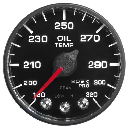 "AutoMeter 2-1/16"" Oil Temp 180- 320`F Bfb Ecu Spek Nl"