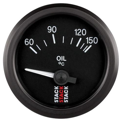 AutoMeter Gauge Oil Temp Electric 52mm Blk 60-150ºc M10 Male
