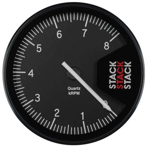 AutoMeter Tachometer Professional Action Replay 125mm Blk 0-8K Rpm
