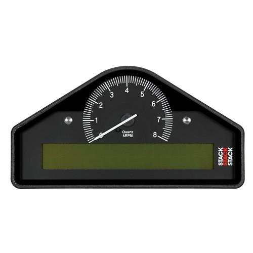 AutoMeter Action Replay Dash Blk 0-8K Rpm  (Bar Deg. C Km/H)