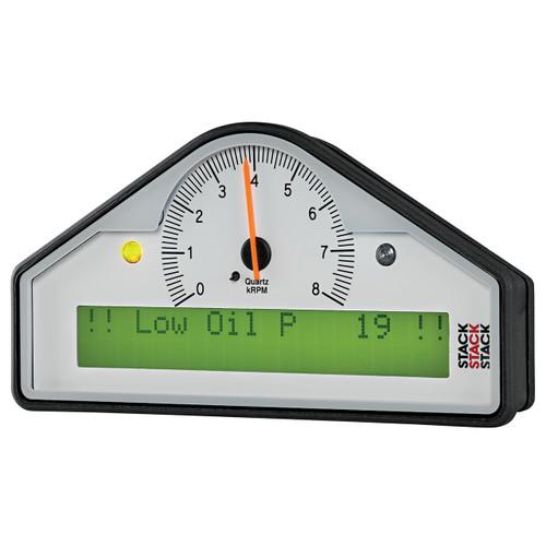 AutoMeter Action Replay Dash Wht 0-8K Rpm  (Psi Deg. F Mph)