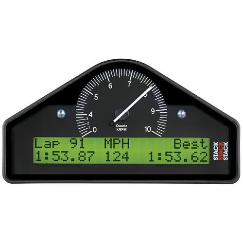 AutoMeter Street Dash Blk 0-4-10K Rpm  (Psi Deg. C Mph)
