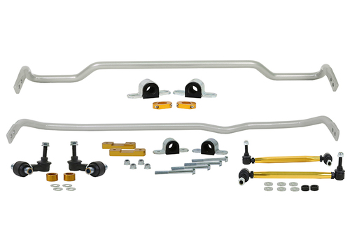 Whiteline Front and Rear Sway bar - vehicle kit - BWK018