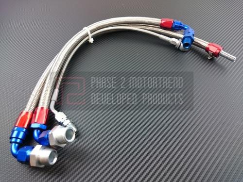 P2M Turbo Line Kit for Nissan RB25