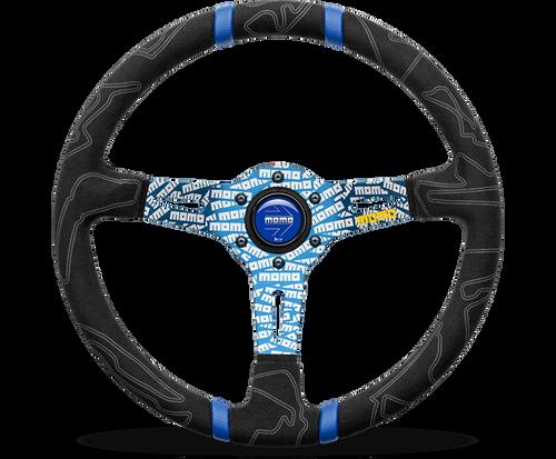 Momo Steering Wheel - ULTRA Steering Wheel, 350mm Blue