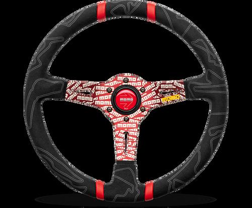 Momo Steering Wheel - ULTRA Steering Wheel, 350mm Red