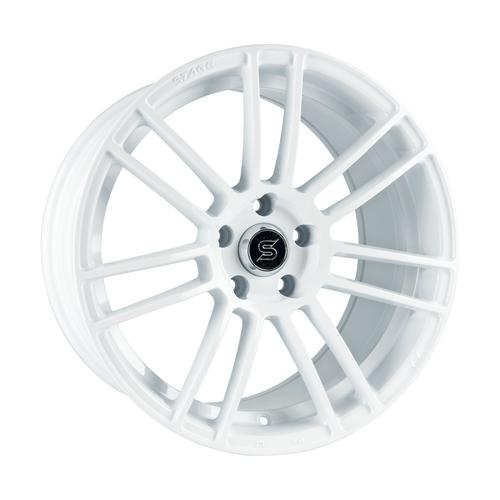 Stage Wheels Belmont 18x8.5 +35mm 5x100 CB: 73.1 Color: White