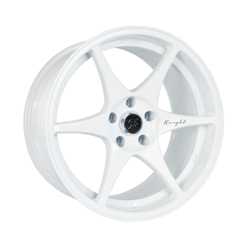 Stage Wheels Knight 18x9.5 +12mm 5x114.3 CB: 73.1 Color: White
