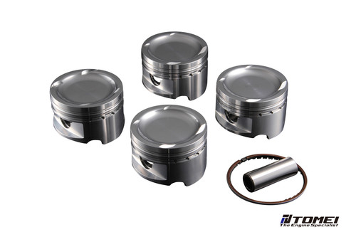 Tomei Forged Piston Kit 4B11 2.3 87.00mm