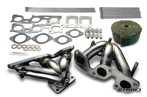 Tomei Exhaust Manifold Kit Expreme Rb26Dett With Titan Exhaust Bandage