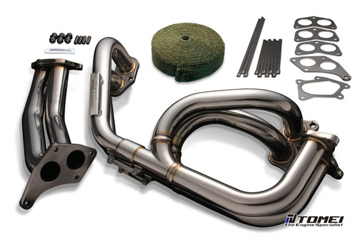 Tomei Exhaust Manifold Kit Expreme Ej Twin Scroll Wrx/Sti Equal Length With Titan Exhaust Bandage