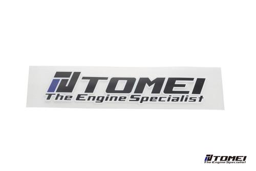 Tomei Sticker Engine Specialist 12 Inch Die Cut Black M