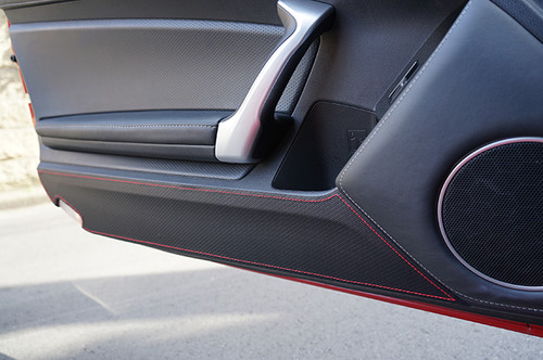 Revel Red Door Kick Guard for Scion FR-S Subaru BRZ